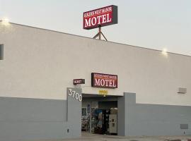 Golden West Manor Motel, hotel perto de Los Angeles Memorial Coliseum, Los Angeles