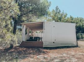 Mighty Mobile Homes - luxury camping experience