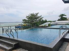 Seaview OneResidences Apt 5pax next to F Terminal, apartment in Batam Center