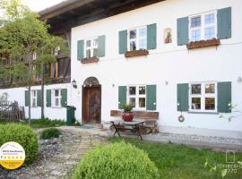 5 Sterne Ferienhaus Gut Stohrerhof am Ammersee in Bayern bis 11 Personen, Hotel in Dießen am Ammersee