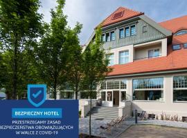 Hotel Eureka, spa hotel in Sopot