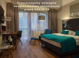Hotel Topaz Poznań Centrum, pet-friendly hotel in Poznań