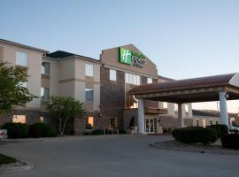 Holiday Inn Express Hotel & Suites Bloomington-Normal University Area, hotel near Central Illinois Regional Airport - BMI, Bloomington