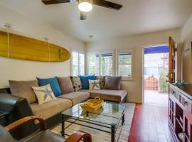 Family BEACH BUNGALOW w/ Private Front Patio & BBQ!
