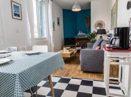 Appartement 2 chambres hypercentre Saint Nazaire, hotel in Saint-Nazaire