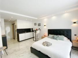 Few steps from the beach - Nice studio w/ terrace, apartment in Cannes
