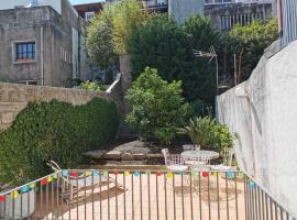 Studio with private garden @ historic center