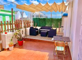 Sunny attic in Ruzafa