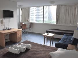 Accommodation Sydney City Centre - Hyde Park Plaza Park View College Street Studio Apartment