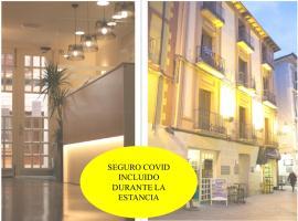 Hotel La Paz, hotel en Jaca