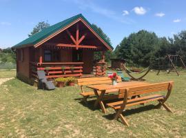 Zielone Domki, self catering accommodation in Wiele