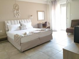 Aspasia Apartments, хотел в Керамоти
