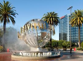 Hilton Los Angeles-Universal City, hotel with jacuzzis in Los Angeles