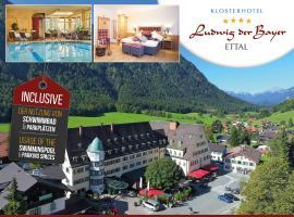 Hotel Klosterhotel Ludwig der Bayer, hotel in Ettal