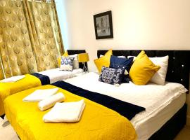 London Excel 2 Bedrooms 2 Bathrooms, Lounge, Balcony Apartment, self catering accommodation in London