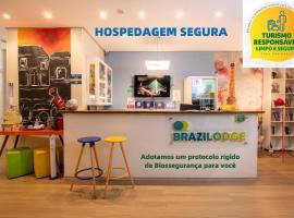 Brazilodge All Suites Hostel, hotel design em São Paulo