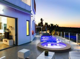 Cretan Residence Villa Chara, hotel in Panormos Rethymno