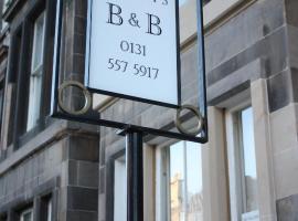 Ramsay's Bed & Breakfast, boutique hotel in Edinburgh