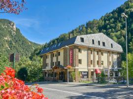 Hotel Palarine, отель в городе Эртц