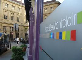 Le Montclair Montmartre by Hiphophostels