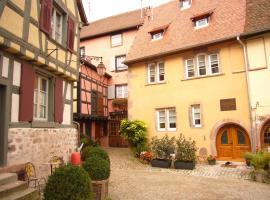 Maison Rebleuthof, hotel in Riquewihr