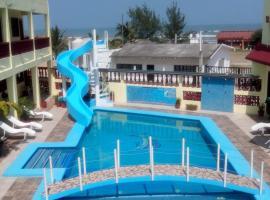 Hotel Playa y Restaurante Juan el Pescador en Tecolutla, hotel en Tecolutla
