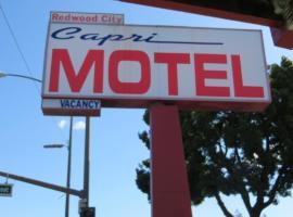 Capri Motel, hotel in Redwood City