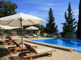 Lefkas Petra, hotel in Agios Nikitas