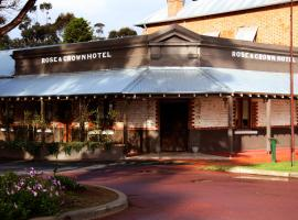 Rose & Crown Hotel, hotel din Perth