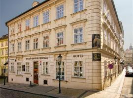 Three Storks, hotel in Prague