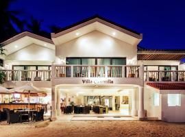Villa Caemilla Beach Boutique Hotel, hôtel à Boracay