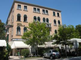 Hotel Cristallo, hôtel sur le Lido de Venise