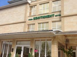 Отель Континент На Крылова, отель в Анапе, рядом находится Торговый центр «Красная площадь»