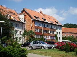 Apartamentai Ramybė, viešbutis mieste Nida