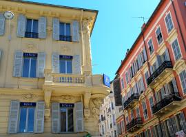 The Originals Boutique, Hôtel Le Seize, Nice Centre (Qualys-Hotel), hotel in Nice