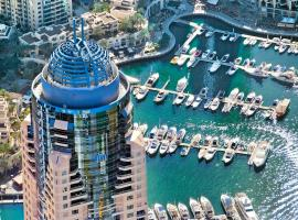 Dubai Marriott Harbour Hotel And Suites, hotel near Aquaventure Waterpark, Dubai