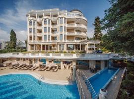 Ostrova Spa Hotel, hotel Szocsiban