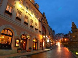 Promenáda Romantic Hotel, Hotel in Karlsbad