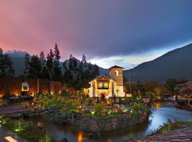 Aranwa Sacred Valley Hotel & Wellness, hotel in Urubamba