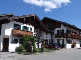 Hotel Ferienhaus Fux, hotel near Kolbensattelbahn, Oberammergau