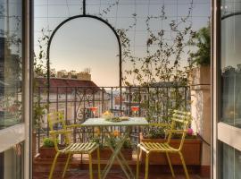 Tritone Top House, hotel em Roma