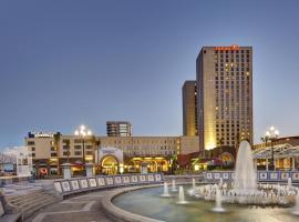 Hilton New Orleans Riverside, hotel near New Orleans Riverwalk Shopping Center, New Orleans