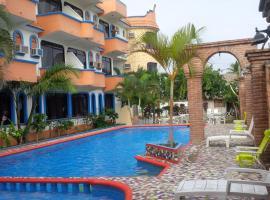 Hotel Real del Quijote, hotel en Tecolutla