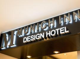 Hotel Munich Inn - Design Hotel, hotell i München