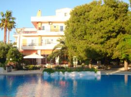Monte Vardia, hotel with pools in Chania Town