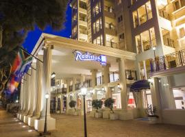 Radisson Blu Le Vendome, family hotel in Cape Town