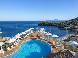 San Antonio Corfu Resort (Adults Only), beach hotel in Kalámi