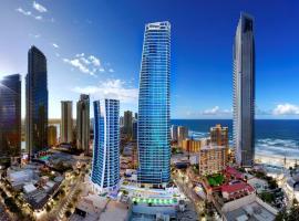 Hilton Surfers Paradise Hotel & Residences, хотел в Гоулд Коуст