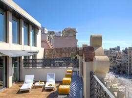 シックスティツー ホテル、バルセロナのホテル