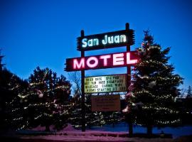 San Juan Motel & Cabins, pet-friendly hotel in Pagosa Springs